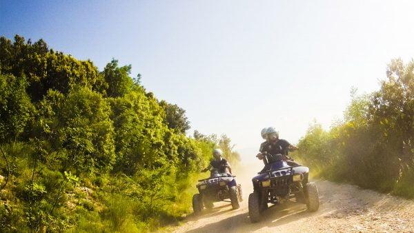 Quad Bike Trip at Mijas two guys